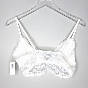 Old Navy Intimates & Sleepwear - Old Navy | Off-white Bralette L